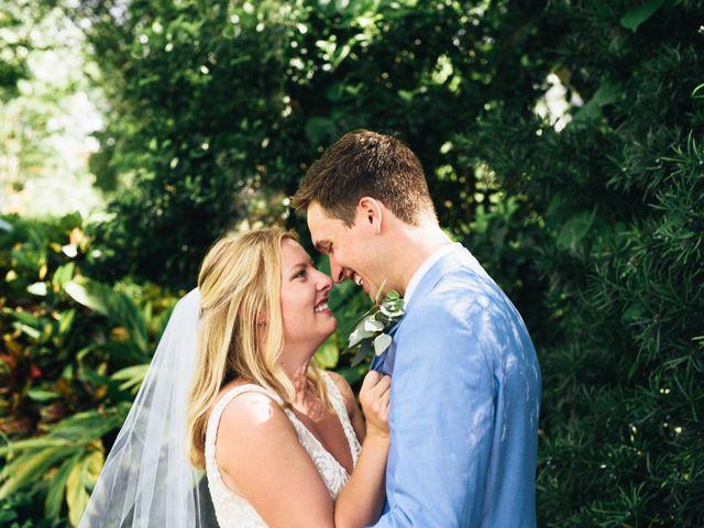 The wedding of Ashley and Josh