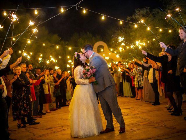 Sara and Michael's Wedding in Tucson, Arizona 32