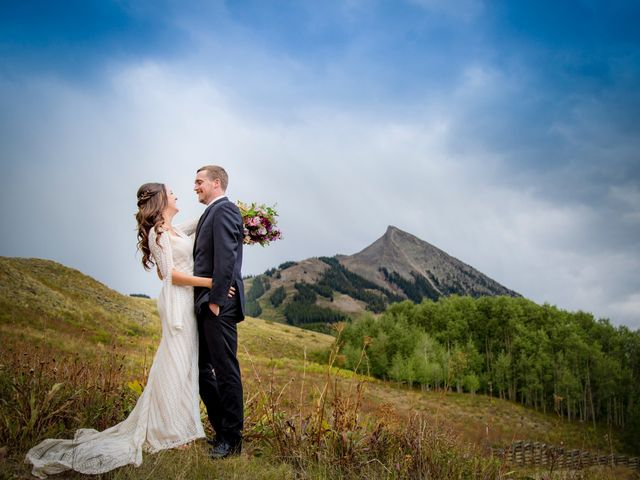 Sean and Julie's Wedding in Crested Butte, Colorado 1