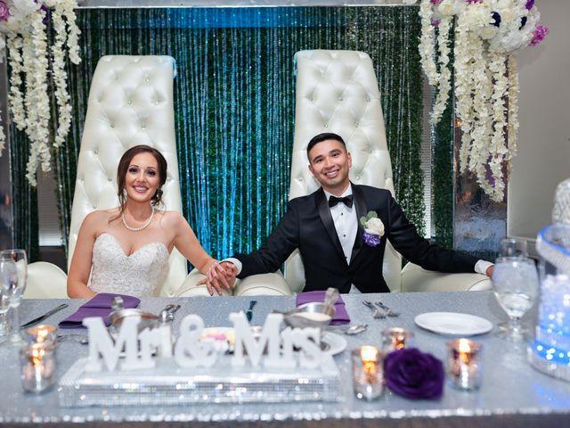The wedding of Dena and Jesus