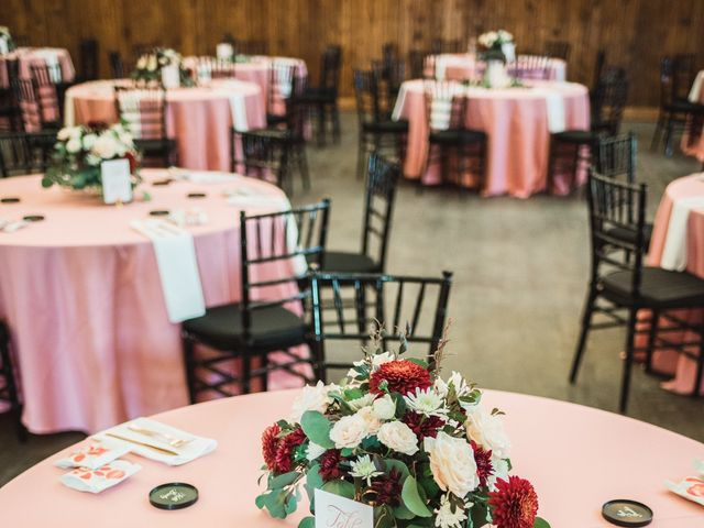 Dakota  and Meredith 's Wedding in Trinity, North Carolina 21