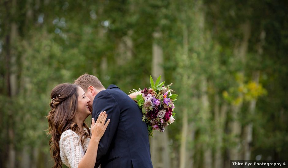 Sean and Julie's Wedding in Crested Butte, Colorado