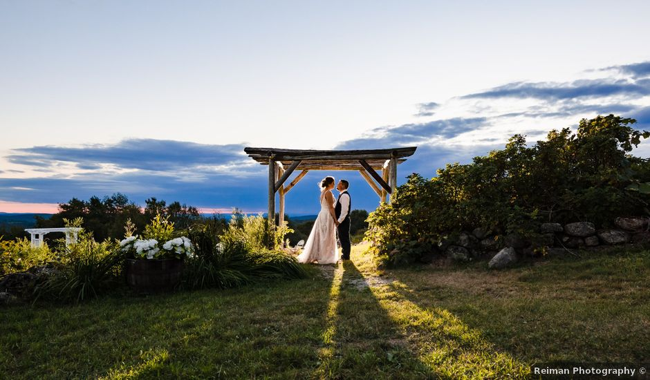 Rich and Jordan's Wedding in Harrisville, New Hampshire