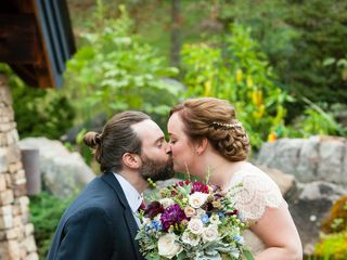 The wedding of Benjamin and Alison