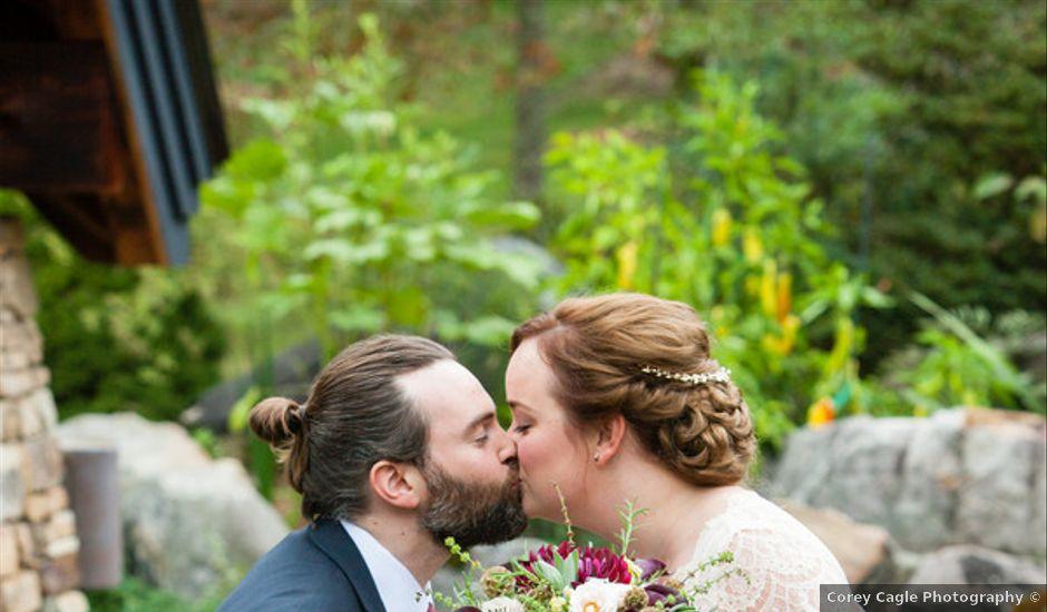 Alison and Benjamin's Wedding in Hendersonville, North Carolina