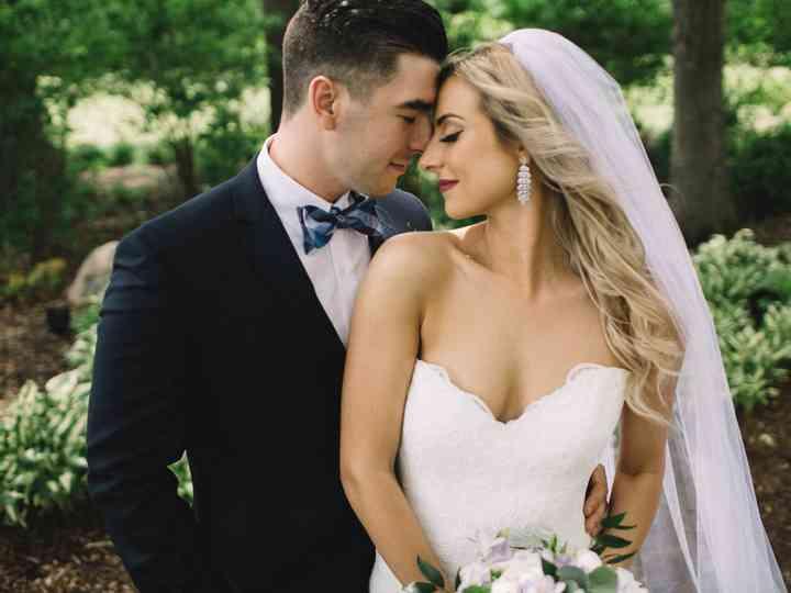 The wedding of Sadie and Ashton