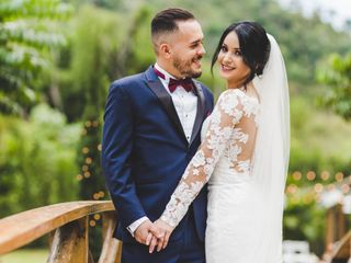 The wedding of Danny and Neisha