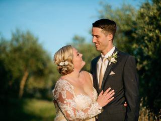 The wedding of Caitie and Bobby