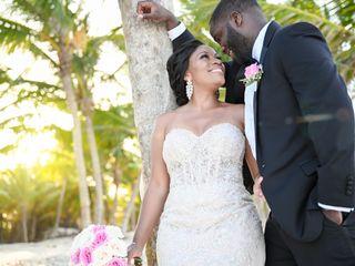 The wedding of Tahirah and Jonathan