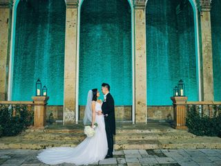 The wedding of Vince and Kristine