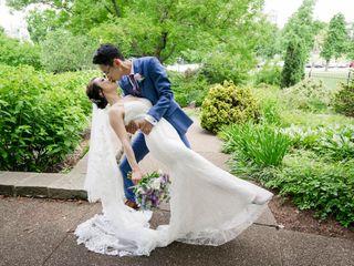 The wedding of Yuanyuan and Simon