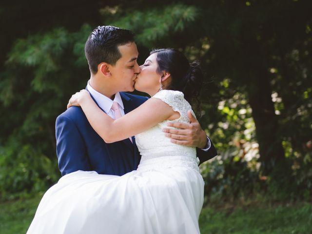 The wedding of Patricia and Sebastian