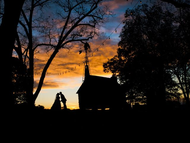 The wedding of Madison and Craig