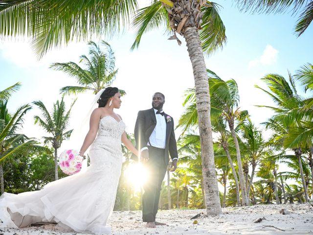 Jonathan and Tahirah's Wedding in Punta Cana, Dominican Republic 2