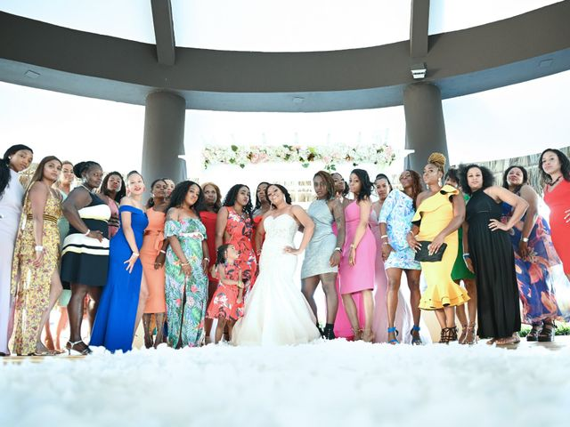 Jonathan and Tahirah's Wedding in Punta Cana, Dominican Republic 74