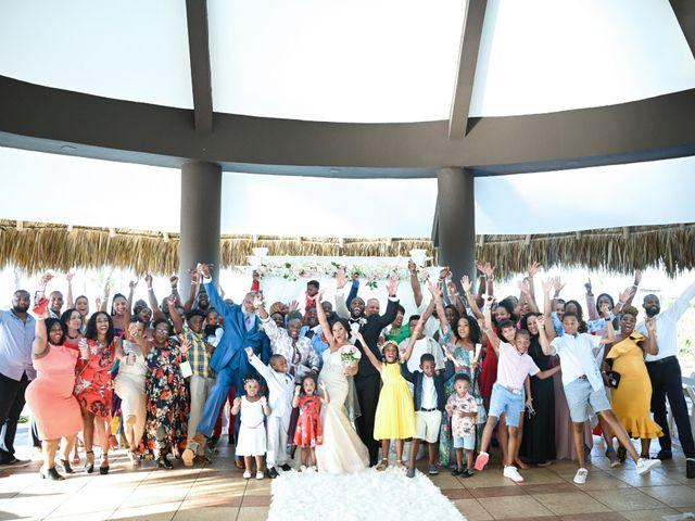 Jonathan and Tahirah's Wedding in Punta Cana, Dominican Republic 76