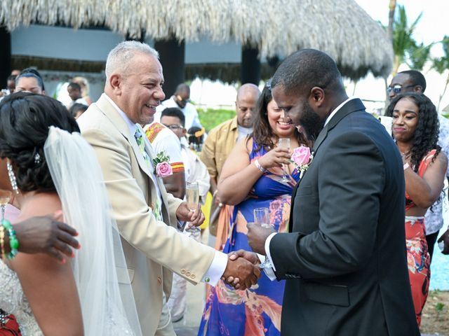 Jonathan and Tahirah's Wedding in Punta Cana, Dominican Republic 78