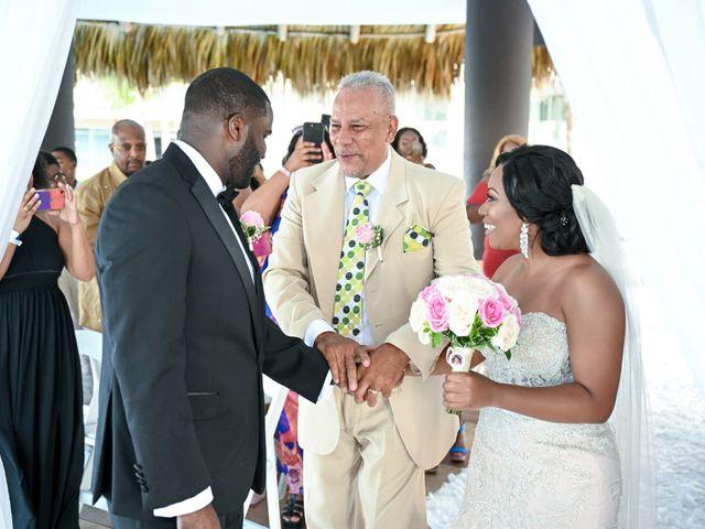 Jonathan and Tahirah's Wedding in Punta Cana, Dominican Republic 87