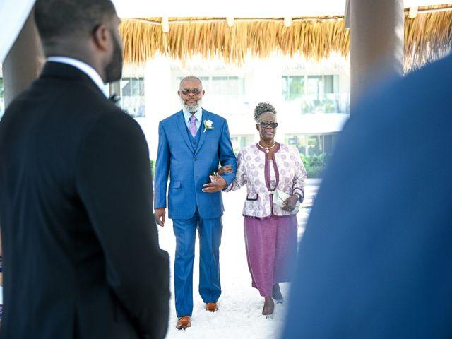 Jonathan and Tahirah's Wedding in Punta Cana, Dominican Republic 90