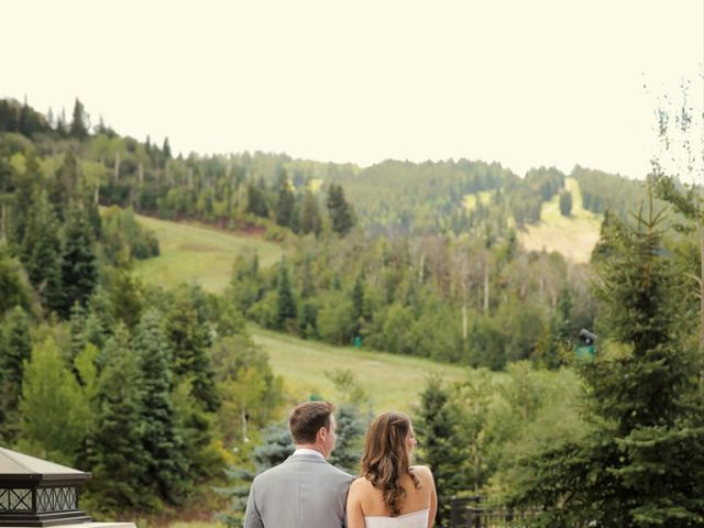Cate and Craig's Wedding in Park City, Utah 6