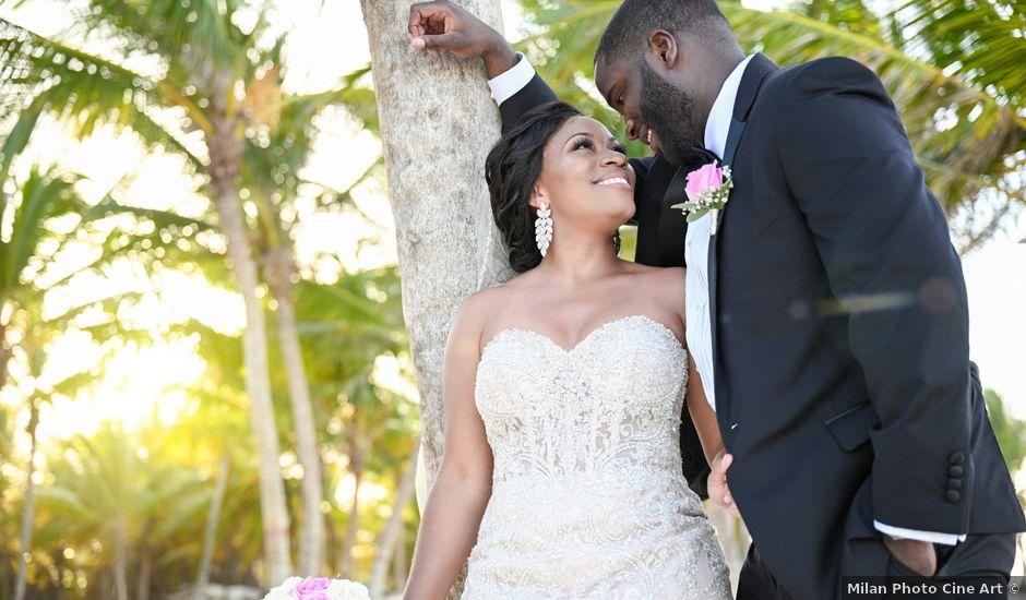 Jonathan and Tahirah's Wedding in Punta Cana, Dominican Republic