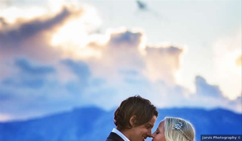 Corey and Travis's Wedding in Stateline, Nevada