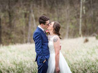The wedding of Hayden and Mackenzie
