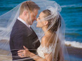 The wedding of Lauren and Brad