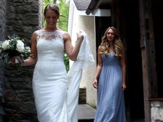 The wedding of Lindsay and Nick 1