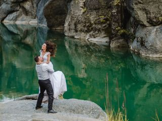 The wedding of Nikos and Iro