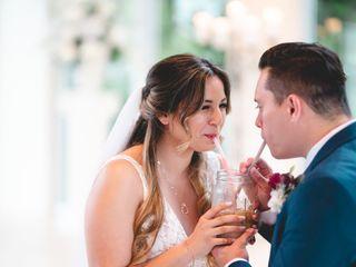 The wedding of Christina and Mike