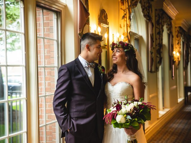 The wedding of Kaylah and Alex
