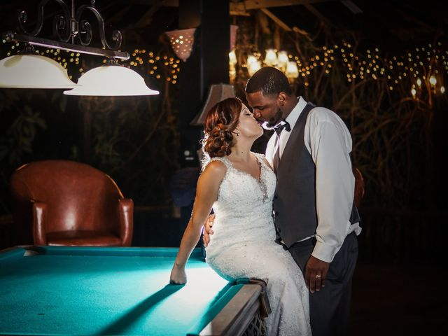 The wedding of Jasemia and Ericson