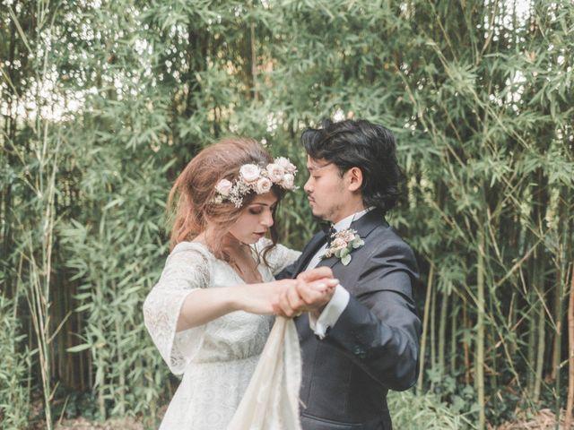 The wedding of Giorgia and Patrick