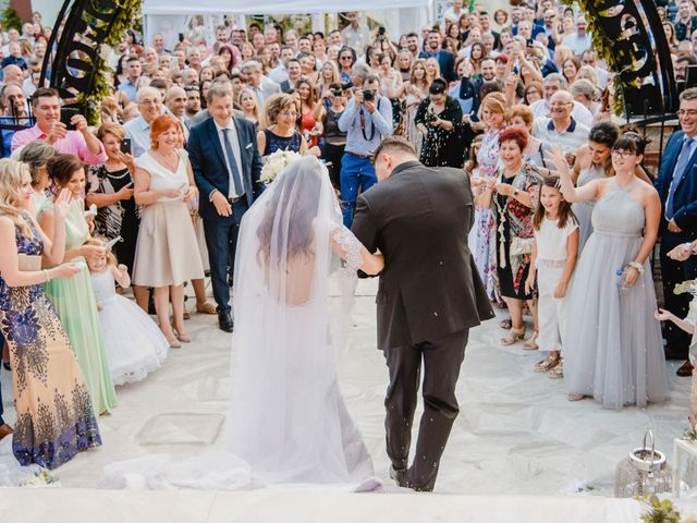 Iro and Nikos's Wedding in Thessaloniki, Greece 32