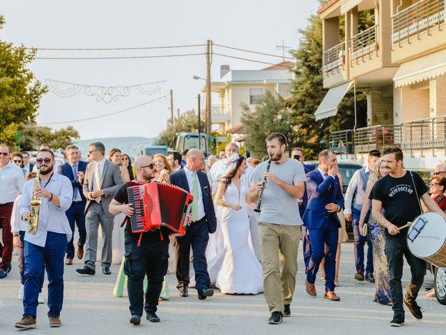 Iro and Nikos's Wedding in Thessaloniki, Greece 41