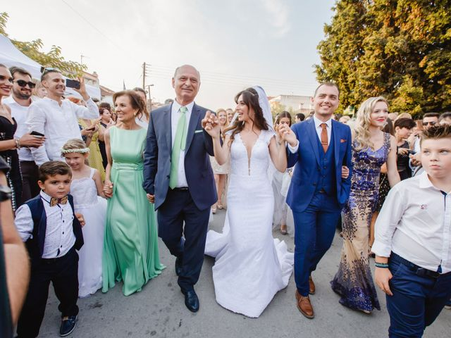 Iro and Nikos's Wedding in Thessaloniki, Greece 42