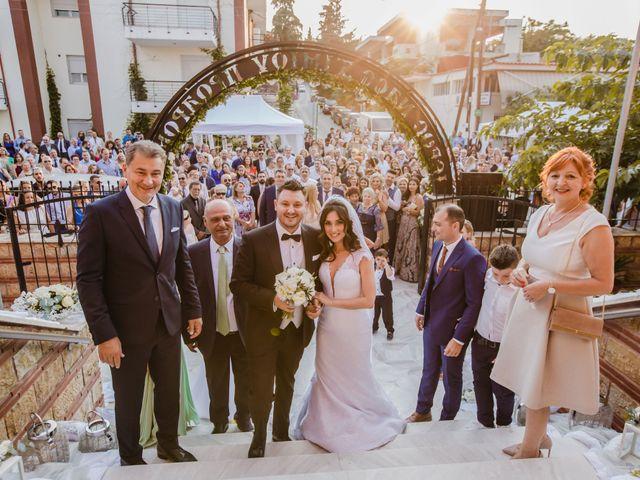 Iro and Nikos's Wedding in Thessaloniki, Greece 44