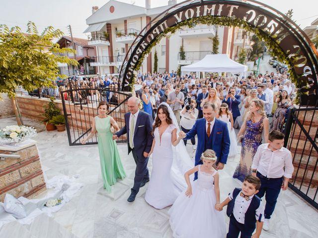 Iro and Nikos's Wedding in Thessaloniki, Greece 45