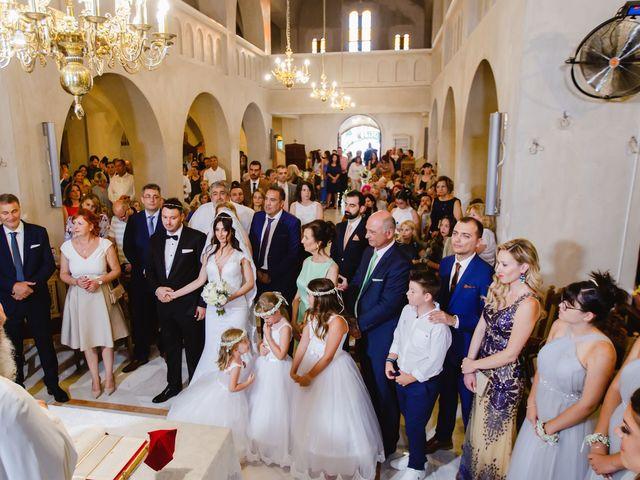 Iro and Nikos's Wedding in Thessaloniki, Greece 47