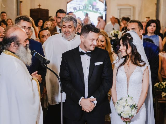 Iro and Nikos's Wedding in Thessaloniki, Greece 58