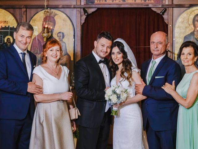 Iro and Nikos's Wedding in Thessaloniki, Greece 60