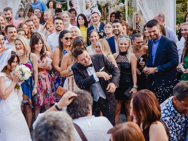 Iro and Nikos's Wedding in Thessaloniki, Greece 61