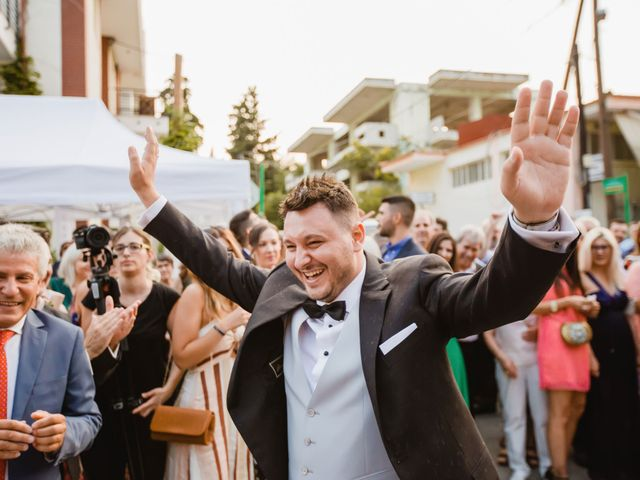 Iro and Nikos's Wedding in Thessaloniki, Greece 62