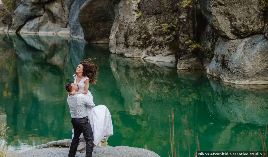 Iro and Nikos's Wedding in Thessaloniki, Greece
