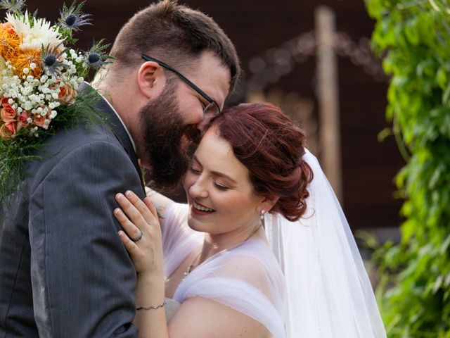The wedding of Megan and John
