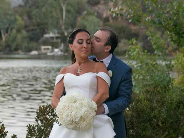 The wedding of Olga and Milad