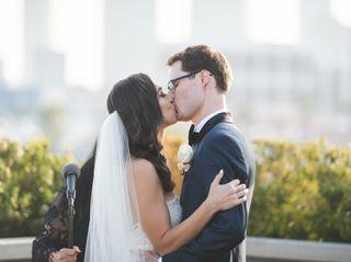 The wedding of Chantelle and Erik