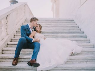 The wedding of Ashlee and Eric