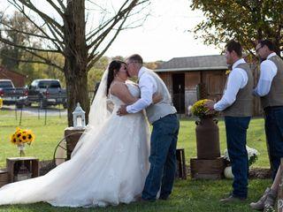 The wedding of Amber and Richard 1